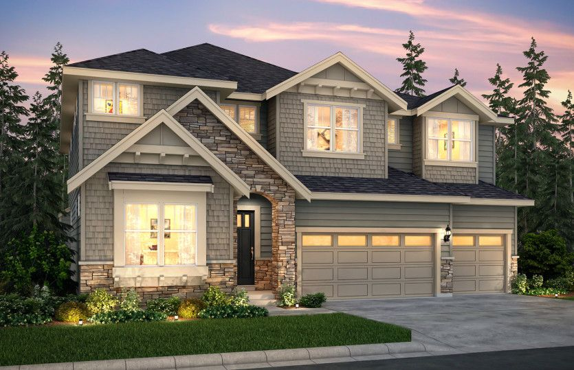 Single Family for Sale at Glenmore - Davenport 14410 110th St. Ne Lake Stevens, Washington 98258 United States