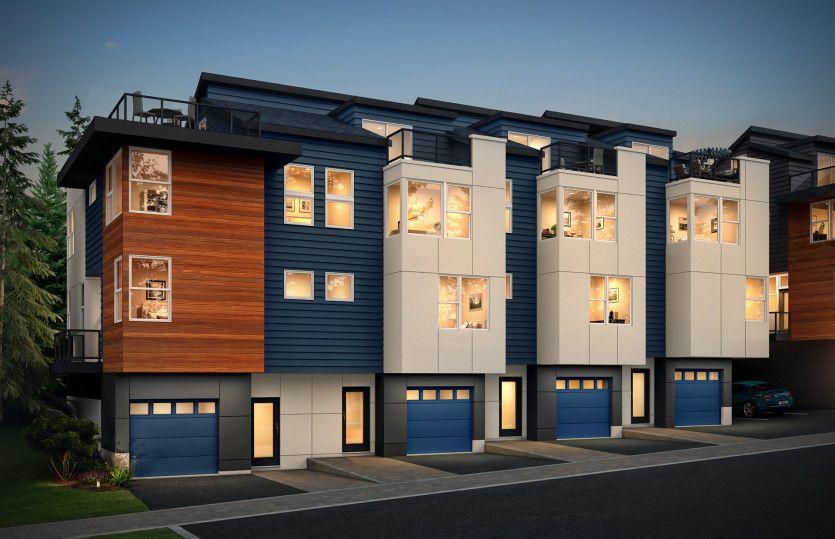 Multifamiliar por un Venta en 66 Degrees - Residence I 8502 166th Ave Ne Redmond, Washington 98052 United States