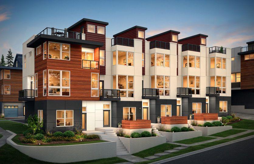 Multifamiliar por un Venta en 66 Degrees - Residence Vii 8502 166th Ave Ne Redmond, Washington 98052 United States