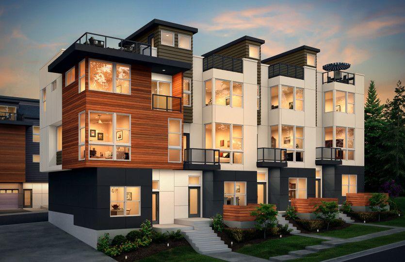 Multifamiliar por un Venta en 66 Degrees - Residence X 8502 166th Ave Ne Redmond, Washington 98052 United States