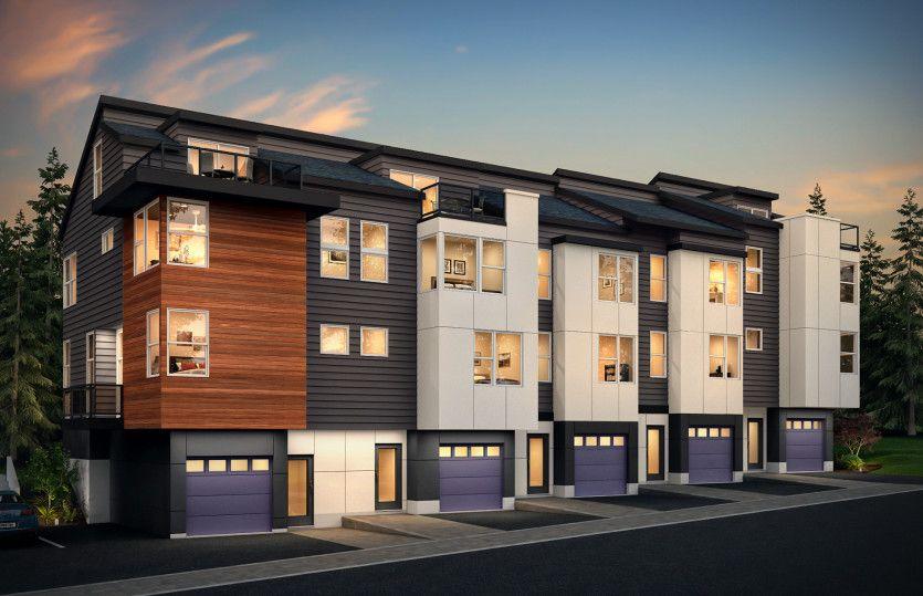 Multifamiliar por un Venta en 66 Degrees - Residence Iv 8502 166th Ave Ne Redmond, Washington 98052 United States