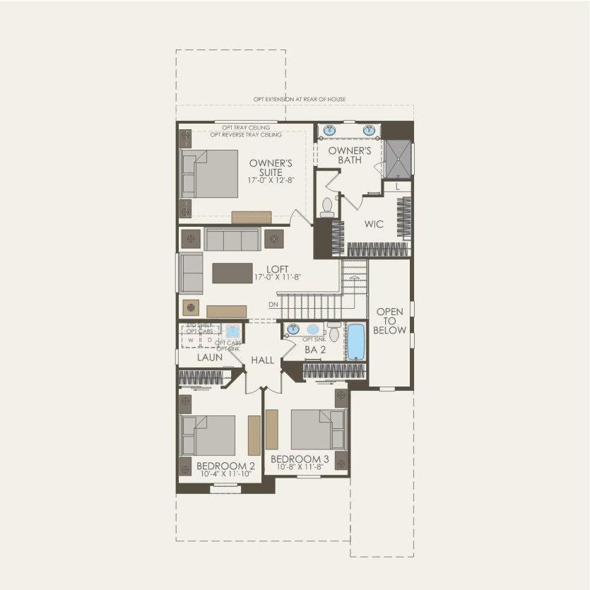 First Floor 3 br / 2.5 ba