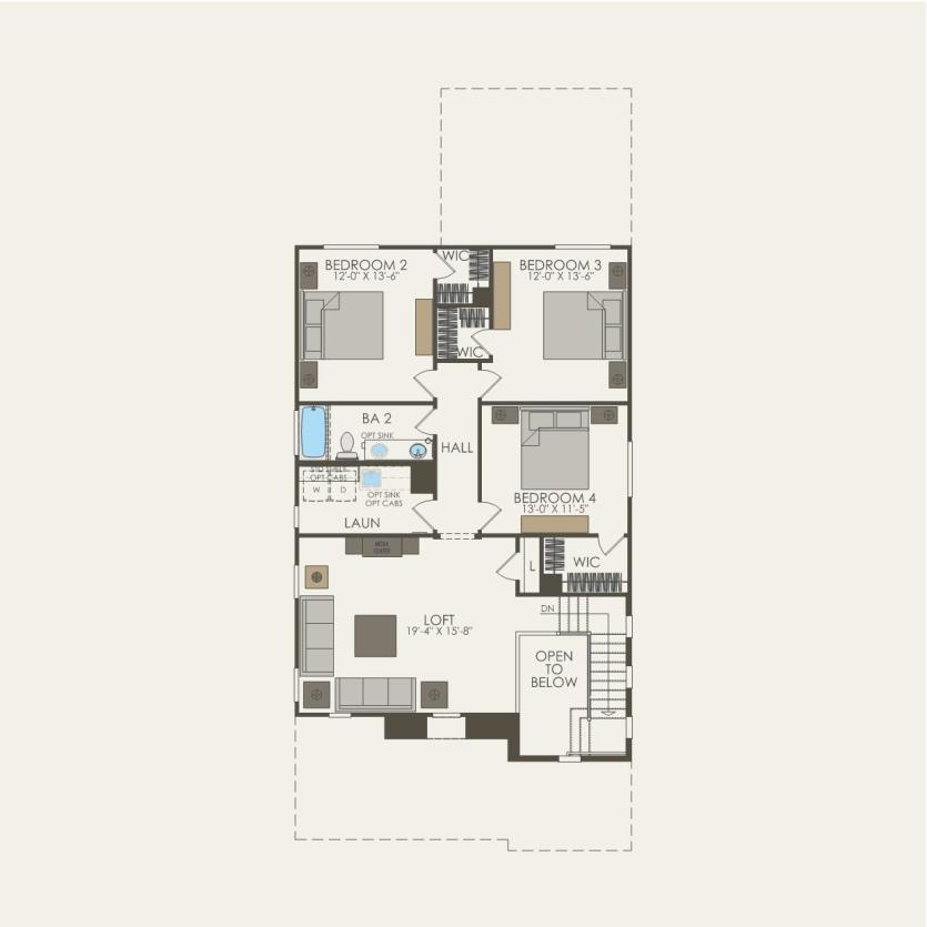 First Floor 4 br / 2.5 ba