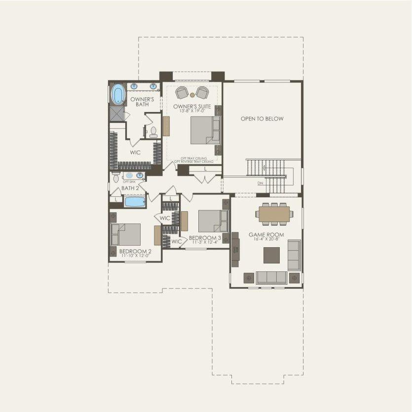 First Floor 4 br / 3.5 ba