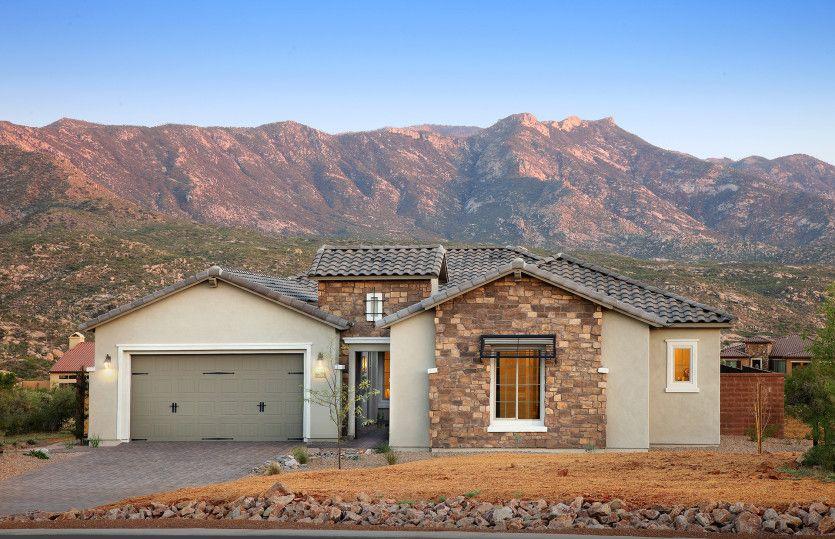 单亲家庭 为 销售 在 Sundance Ridge - Patagonia 66757 E Sundance Pl Saddlebrooke, Arizona 85739 United States