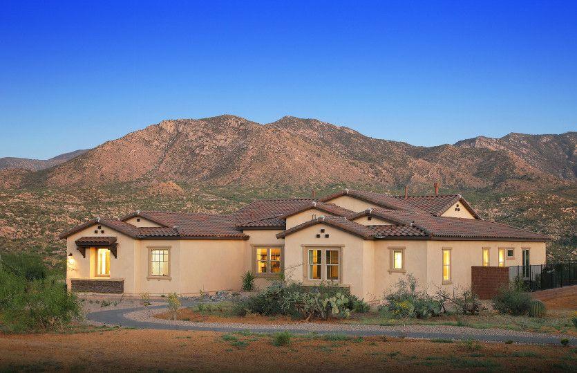 单亲家庭 为 销售 在 Sundance Ridge - Bell Tower 66757 E Sundance Pl Saddlebrooke, Arizona 85739 United States
