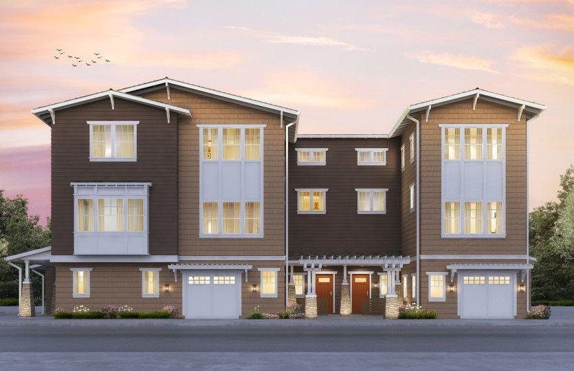 Multi Family for Active at Marquis - Plan 5 133 Encinal Avenue Menlo Park, California 94025 United States