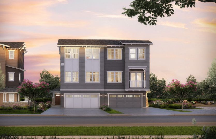 Multi Family for Active at Marquis - Plan 2 133 Encinal Avenue Menlo Park, California 94025 United States