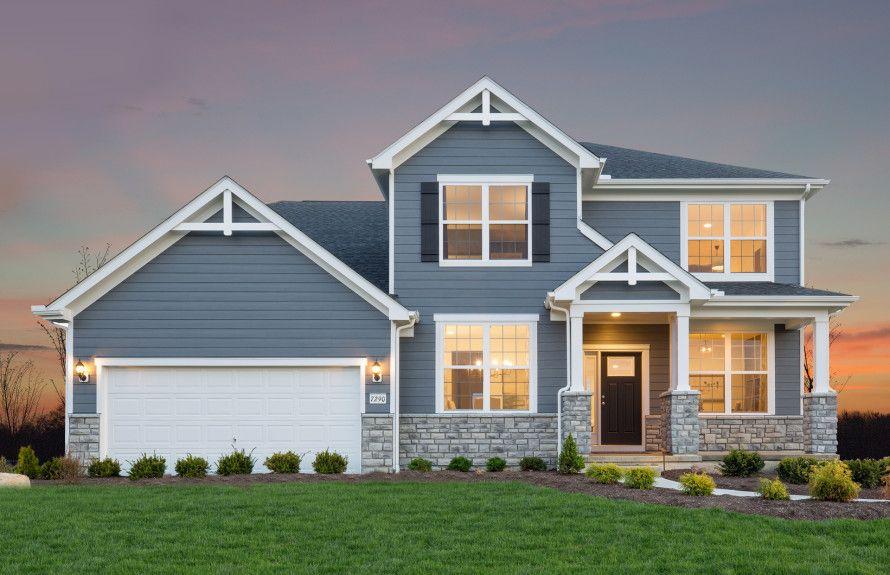 单亲家庭 为 销售 在 Allison Ii 2418 Home Road Powell, Ohio 43065 United States