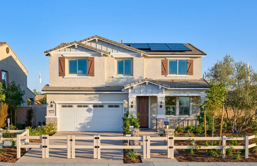 Single Family for Active at Belrose - Pathmaker 6065 Pennsylvania Place Fontana, California 92336 United States