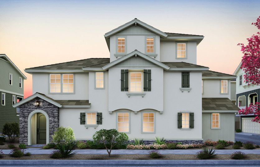 Unifamiliar por un Venta en Parkside Heights - Plan 4 1271 Walpert Street Hayward, California 94541 United States