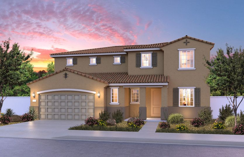 Single Family for Active at Cloverdale Estates - Harlow 12963 Salers Court Eastvale, California 92880 United States