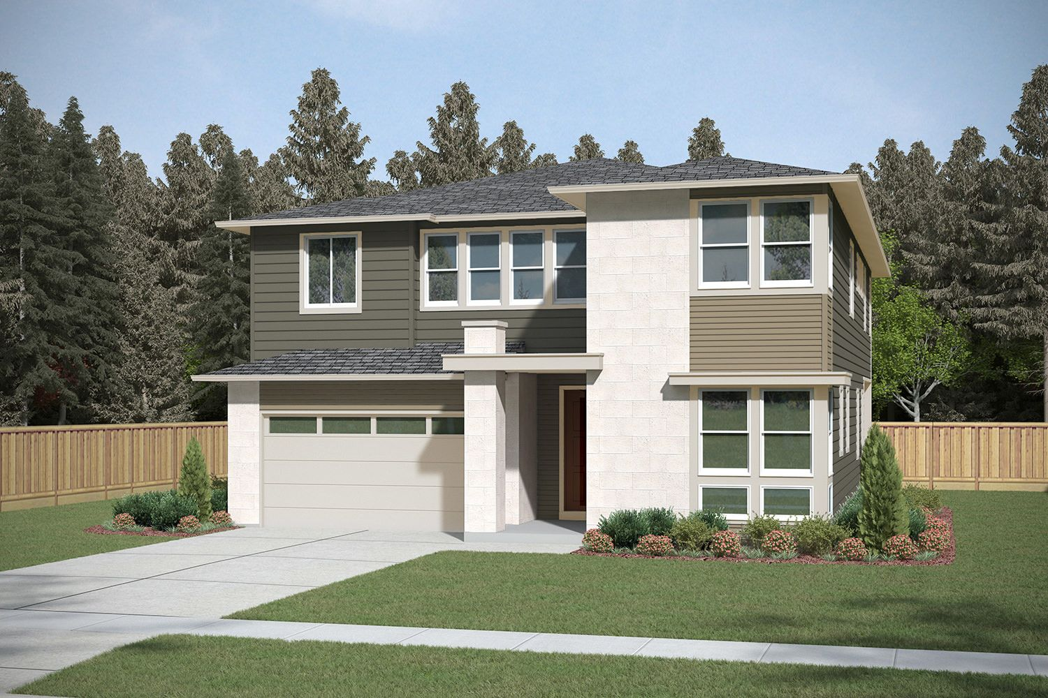 Single Family for Sale at Parkwood Terrace - Residence H-341 13599 Ne 205th St Woodinville, Washington 98072 United States