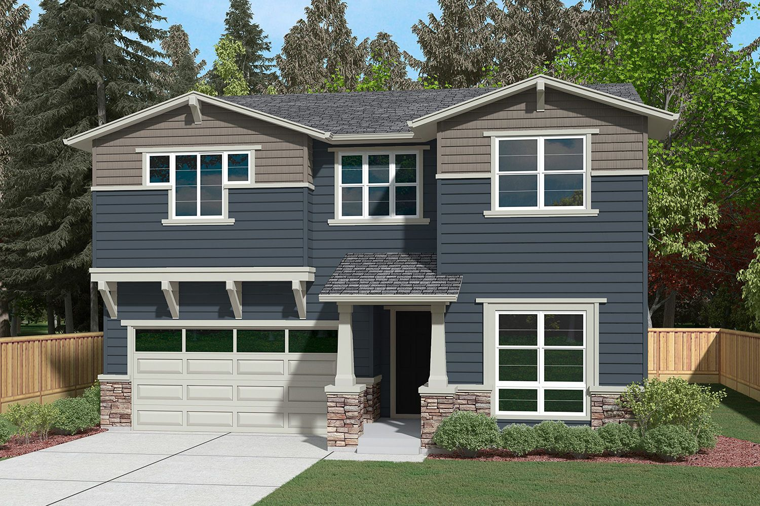 Single Family for Sale at Parkwood Terrace - Residence H-302 13599 Ne 205th St Woodinville, Washington 98072 United States