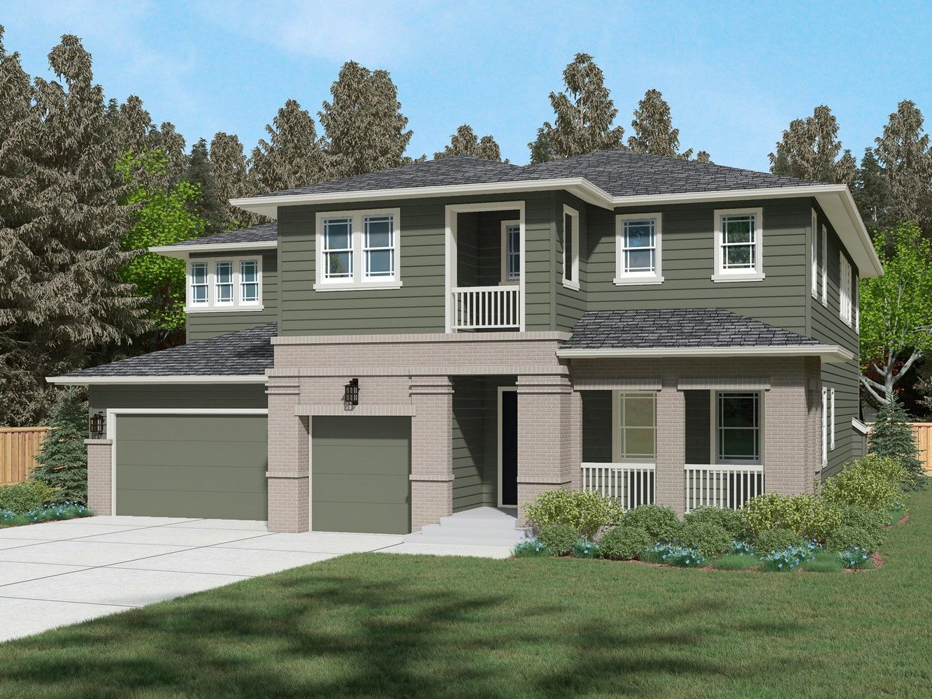 Single Family for Sale at Greenstone Heights - Residence B-440 21809 34th Dr Se Bothell, Washington 98021 United States