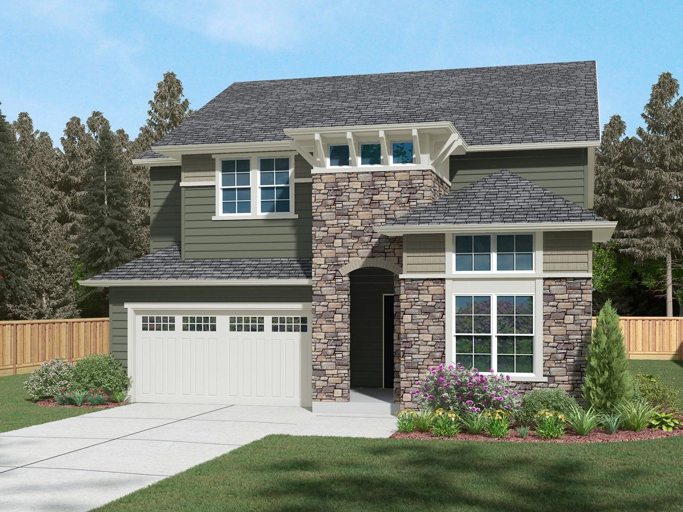 Single Family for Sale at English Landing - Residence H-390 12180 173rd Place Ne Redmond, Washington 98052 United States