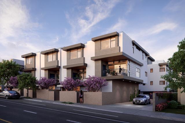 单亲家庭 为 销售 在 Fairfax At Sunset - Plan D-Fairfax At Sunset 1352 N. Fairfax Ave Los Angeles, California 90046 United States