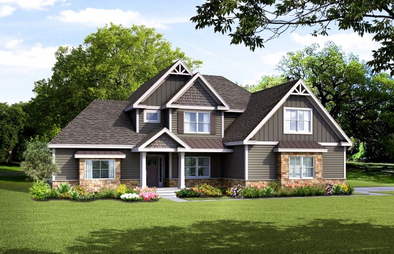 Single Family for Active at Mountain View At Gardiner - The Saffron New Paltz, New York 12561 United States