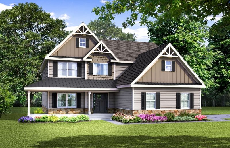 Single Family for Active at Mountain View At Gardiner - The Caraway New Paltz, New York 12561 United States