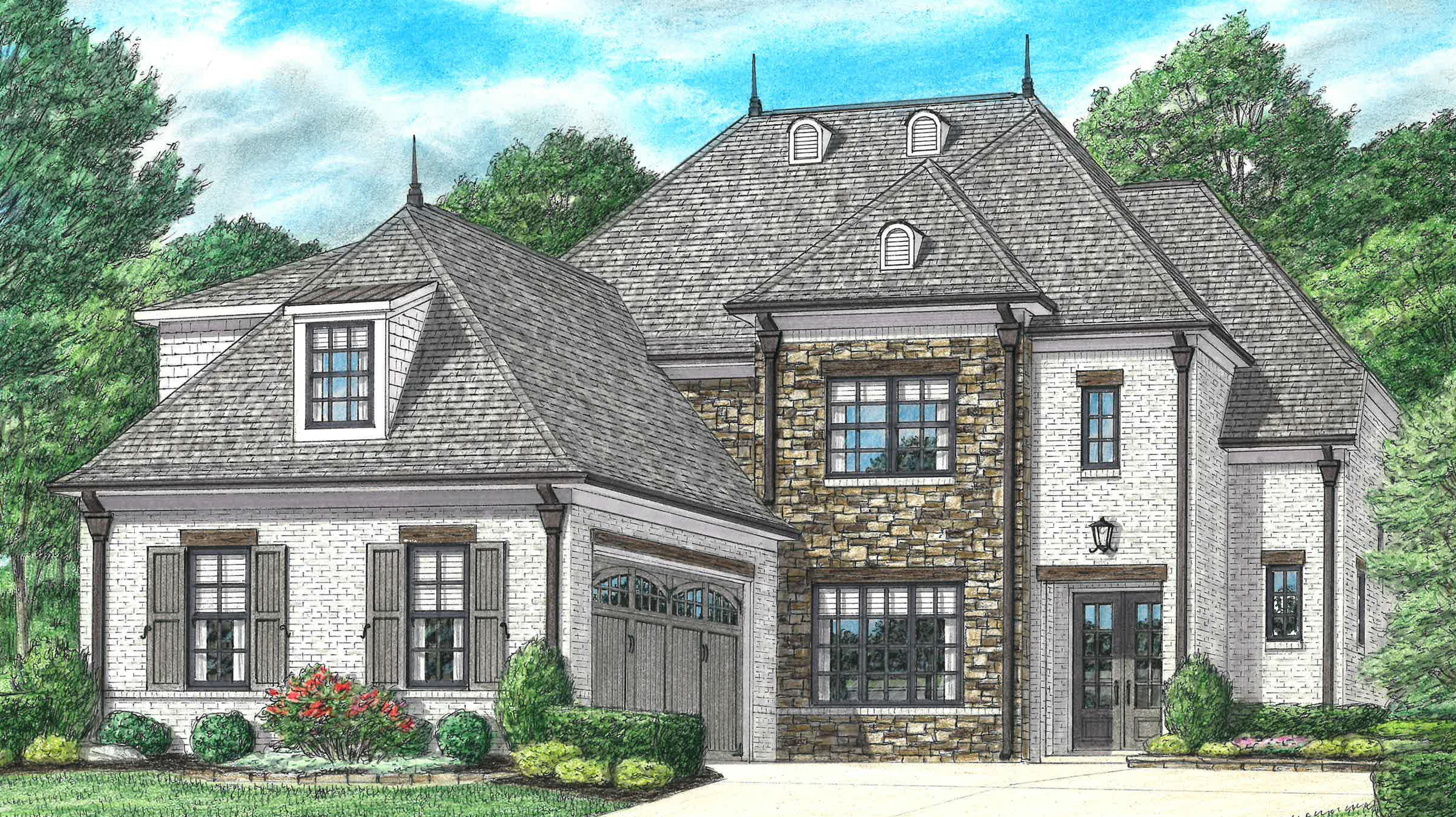 单亲家庭 为 销售 在 Parkview - Mclean 665 Covington Walk Lane South Collierville, Tennessee 38017 United States