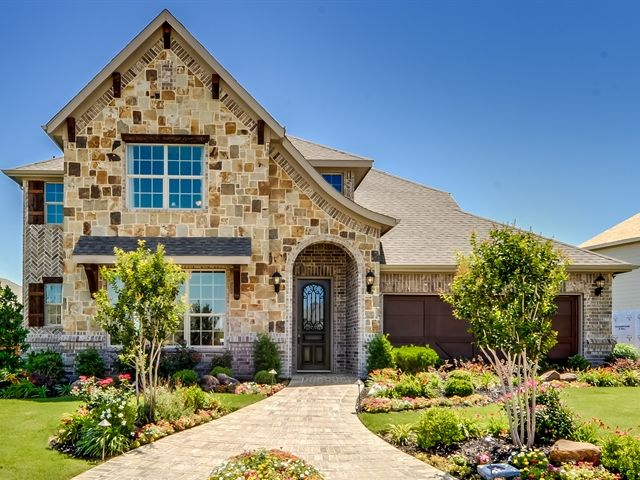 Garden heights new homes in mansfield tx by rendition homes for Garden heights mansfield tx