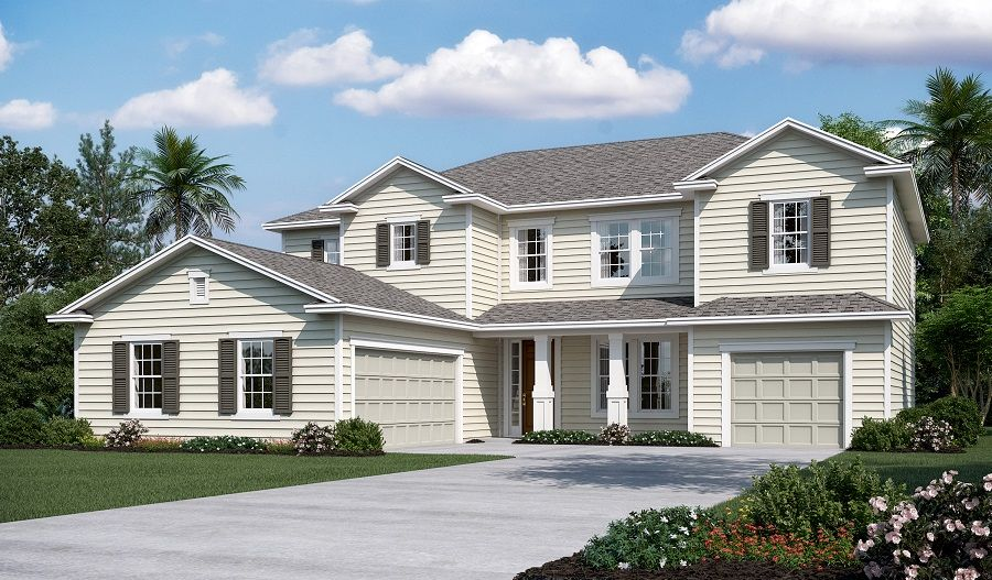Single Family for Sale at Piermont 1919 Silo Oaks Place Fleming Island, Florida 32003 United States