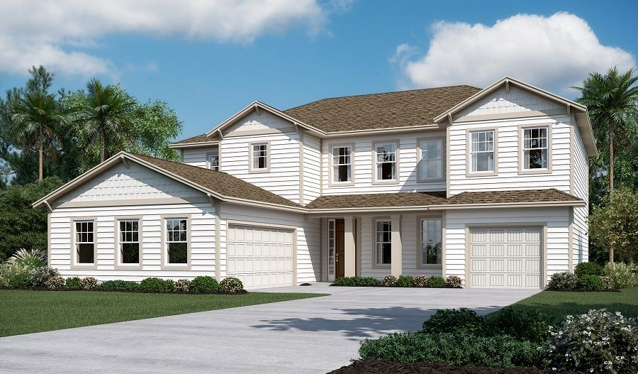 Richmond american homes white oak estates piermont for New american homes