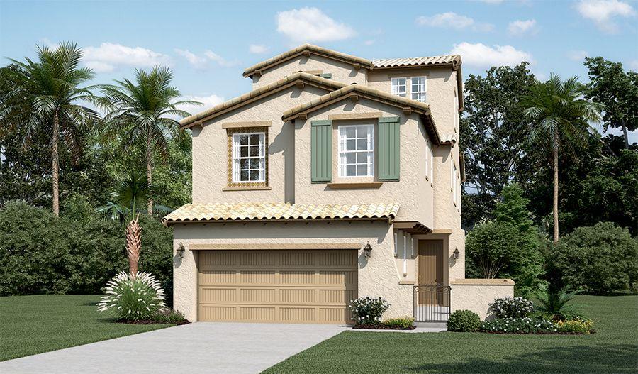 单亲家庭 为 销售 在 The Promontory At Stonebrae - Edison Ii 173 Sonas Drive Hayward, California 94542 United States
