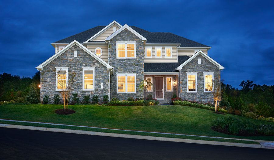 Single Family for Active at Harmon 23913 Tenbury Wells Place Aldie, Virginia 20105 United States