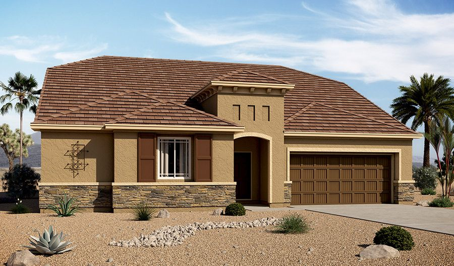 Richmond american homes arlington point paisley 1256309 for New american home las vegas