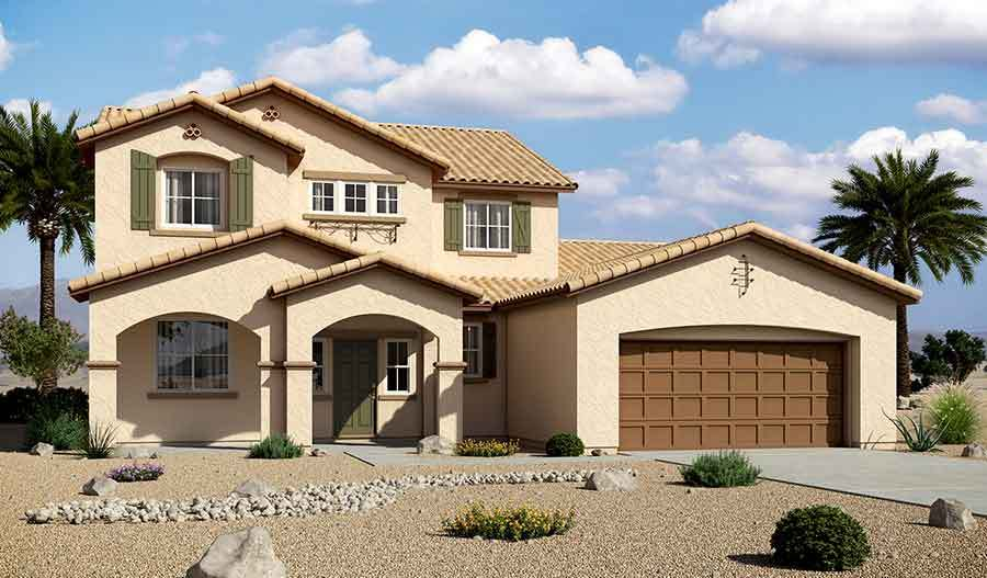Granite falls new homes in las vegas nv by richmond for New american home las vegas