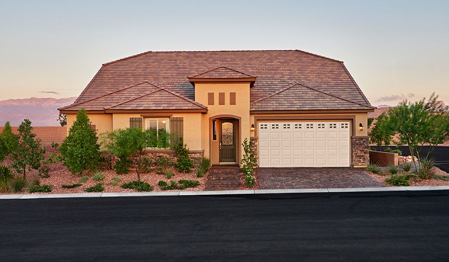 Silver creek new homes in las vegas nv by richmond for New american home las vegas