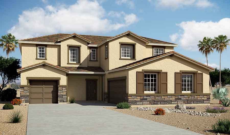 richmond american homes granite falls daley 1343766 las vegas nv new home for sale homegain