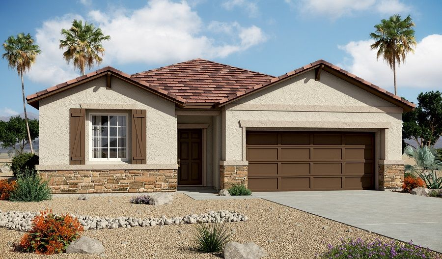 Centennial valley new homes in north las vegas nv by for New american home las vegas