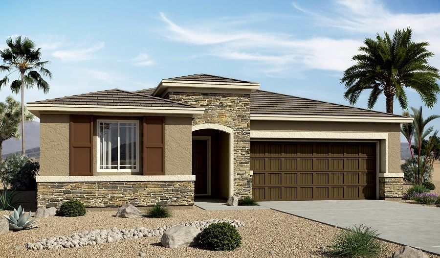 Centennial Valley new homes in North Las Vegas NV by ...