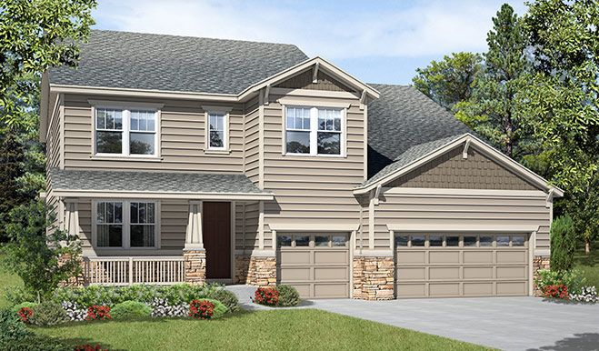 Single Family for Active at Carriage Hills At Crystal Valley - Dillon 2627 Hillcroft Lane Castle Rock, Colorado 80104 United States