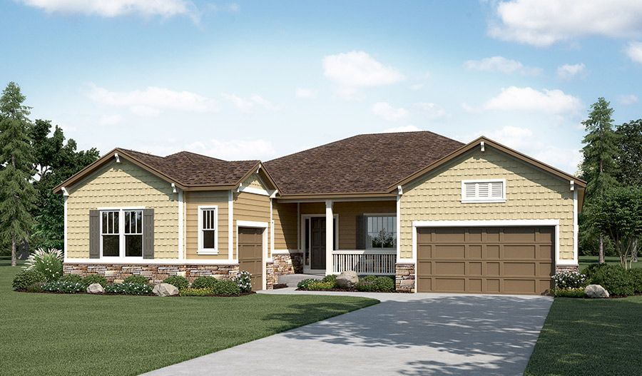 Single Family for Sale at Oak Ridge At Crystal Valley - Hanford Crystal Valley Parkway And Mighty Oaks Street Castle Rock, Colorado 80104 United States