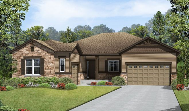Single Family for Sale at The Estates At Blackstone Country Club - Hanford 7600 Blackstone Parkway Aurora, Colorado 80016 United States