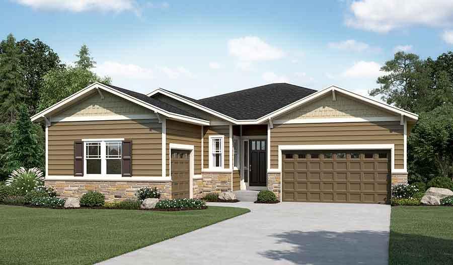 单亲家庭 为 销售 在 Delaney 27054 E. Indore Avenue Aurora, Colorado 80016 United States