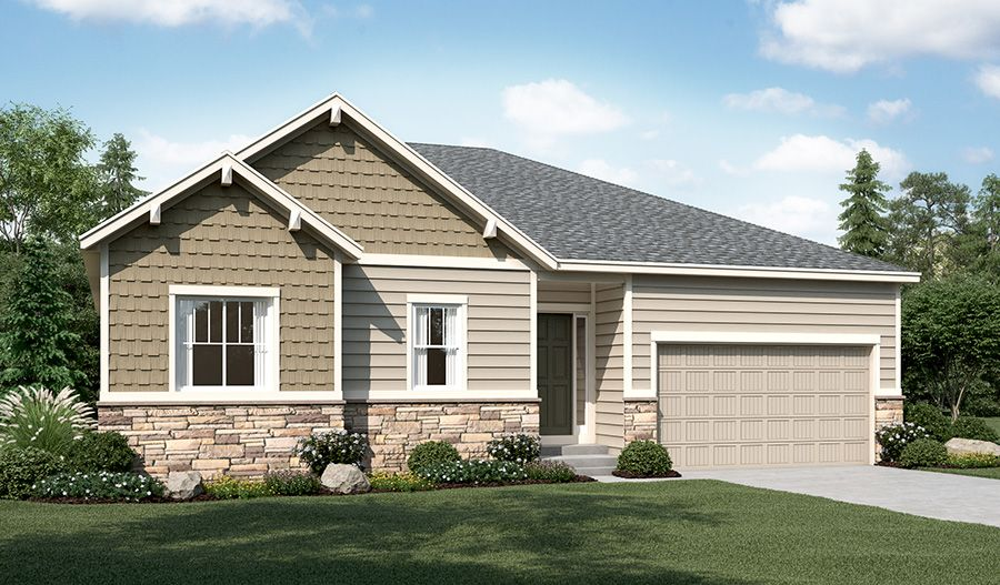 Richmond American Homes Anthology West Delaney 1321395 Parker Co New Home For Sale Homegain
