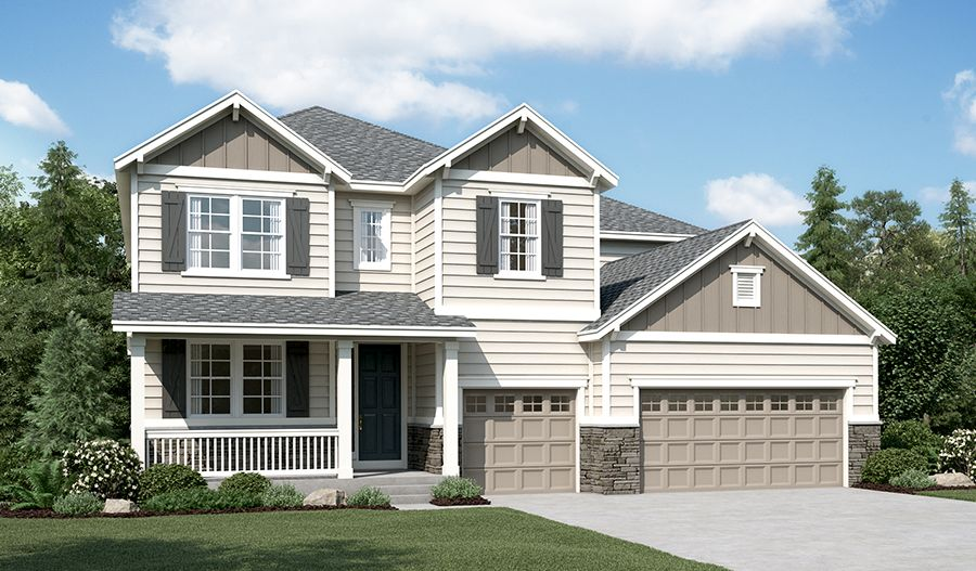 Richmond American Homes Overlook At Cherry Creek Dillon Ii 1299158 Parker Co New Home For