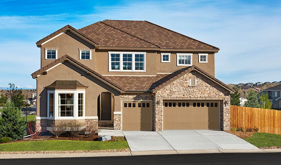 Saddle Rock New Homes In Aurora Co By Richmond American Homes