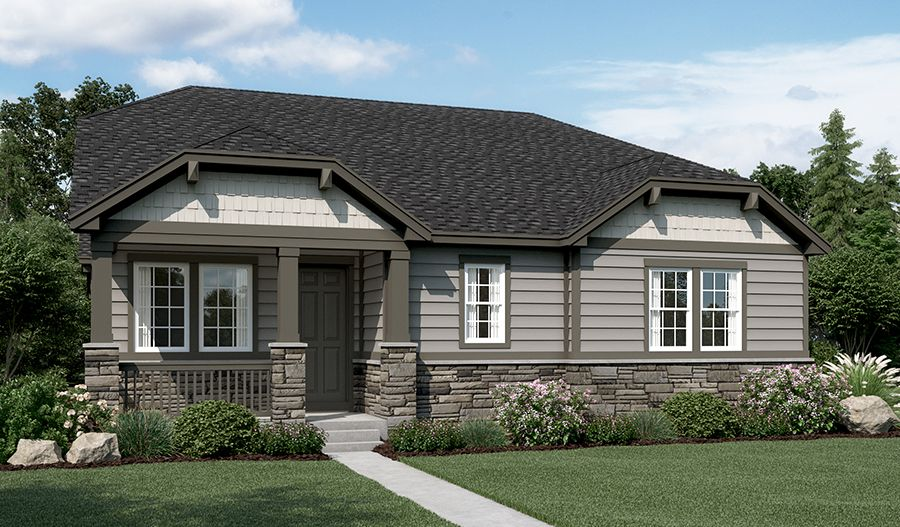 Single Family for Sale at Peakview Village - Grady 6587 S. Vaughn Street Centennial, Colorado 80112 United States