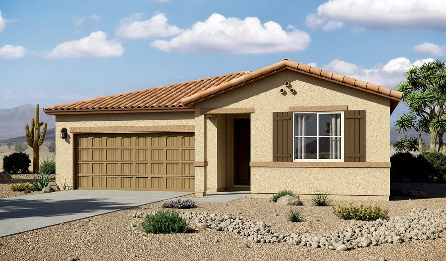 Richmond american homes willow vista timothy 1319667 for Cost to build a house in arizona