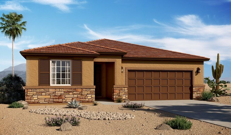 Mountain vail ranch ii new homes in tucson az by richmond for House plans tucson