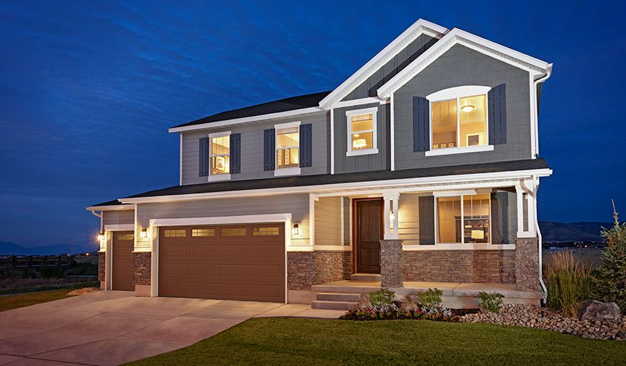 Richmond american homes royal farms haley 1118855 for House plans in utah