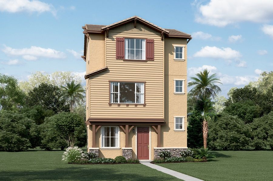 Single Family for Sale at The Grove - Evette 700 E. Harrison Avenue Pomona, California 91767 United States
