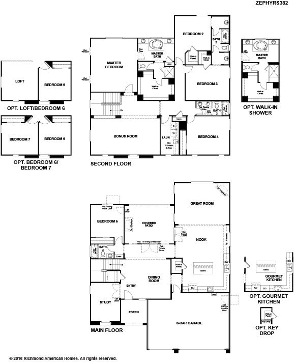 Richmond american homes chaparral at the ranch zephyr for Richmond homes ranch floor plans