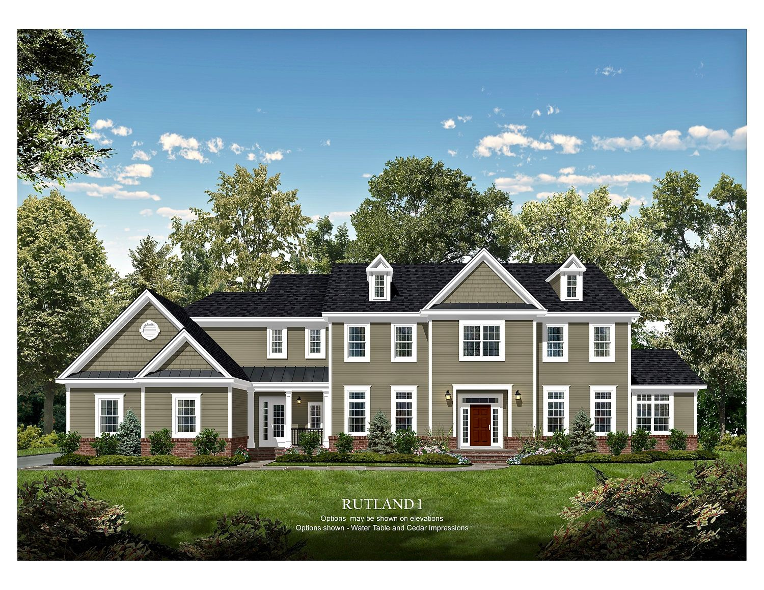 Single Family for Sale at Estates At Holmdel Fields - Rutland 917 Holmdel Rd. Holmdel, New Jersey 07733 United States