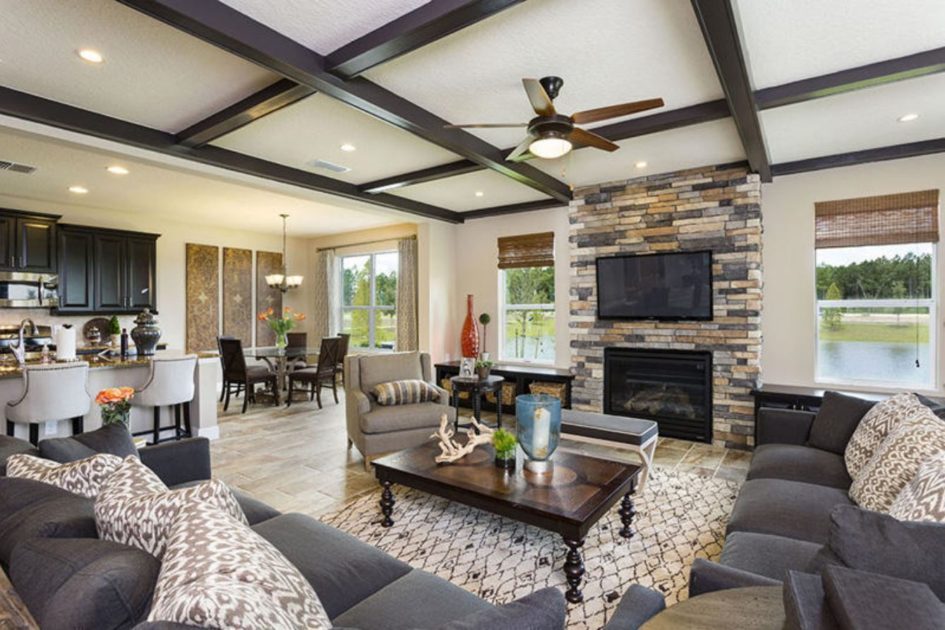 Black lake preserve new homes in winter garden fl by royal for Large home plans for entertaining